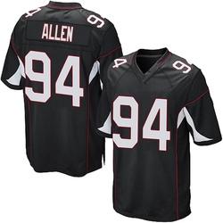 Zach Allen Arizona Cardinals Men's Game Alternate Nike Jersey - Black