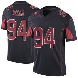 Zach Allen Arizona Cardinals Men's Limited Color Rush Vapor Untouchable Nike Jersey - Black