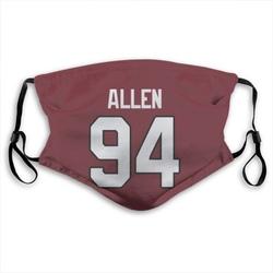 Zach Allen Arizona Cardinals Reusable & Washable Face Mask