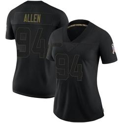 Zach Allen Arizona Cardinals Women's Limited 2020 Salute To Service Nike Jersey - Black