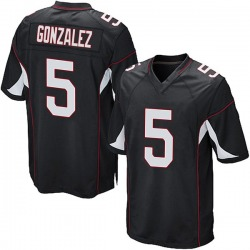 Zane Gonzalez Arizona Cardinals Men's Game Alternate Nike Jersey - Black