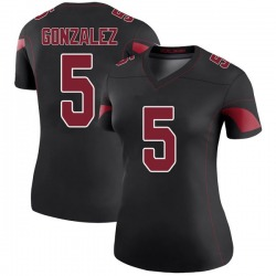 Zane Gonzalez Arizona Cardinals Women's Color Rush Legend Nike Jersey - Black
