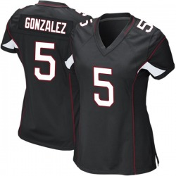 Zane Gonzalez Arizona Cardinals Women's Game Alternate Nike Jersey - Black