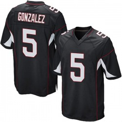 Zane Gonzalez Arizona Cardinals Youth Game Alternate Nike Jersey - Black