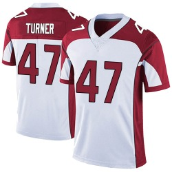 Zeke Turner Arizona Cardinals Men's Limited Vapor Untouchable Nike Jersey - White