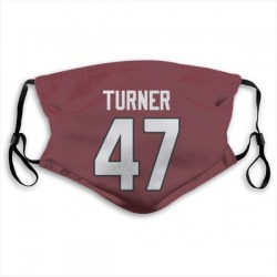 Zeke Turner Arizona Cardinals Reusable & Washable Face Mask