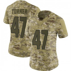 Zeke Turner Arizona Cardinals Women's Limited 2018 Salute to Service Nike Jersey - Camo