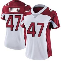 Zeke Turner Arizona Cardinals Women's Limited Vapor Untouchable Nike Jersey - White