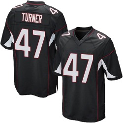 Zeke Turner Arizona Cardinals Youth Game Alternate Nike Jersey - Black