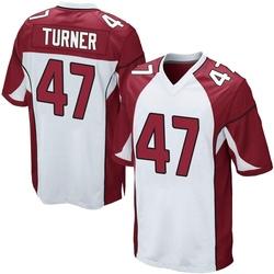 Zeke Turner Arizona Cardinals Youth Game Nike Jersey - White
